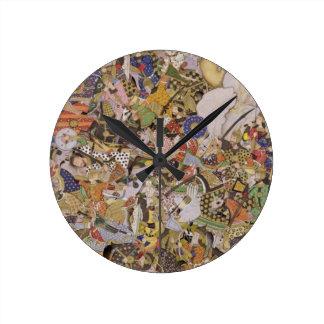 Batalla de Bundi, del Akbarnama, c.1590 (gouac Relojes