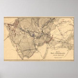 Batalla de Chancellorsville 3 Póster