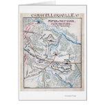 Batalla de Chancellorsville 3 Tarjeta De Felicitación