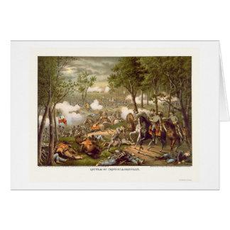 Batalla de Chancellorsville de Kurz y de Allison 1 Felicitación