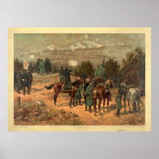 Batalla de Chattanooga de Thure de Thulstrup Print Impresiones