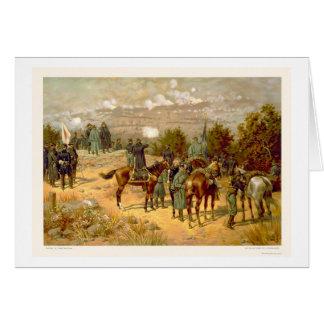Batalla de Chattanooga por L. Prang & Company 1880 Tarjeta De Felicitación