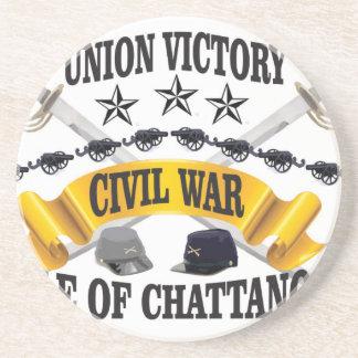 batalla de Chattanooga Posavasos De Arenisca