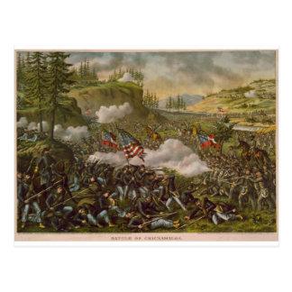 Batalla de Chickamauga, publicada circa 1890 Postal
