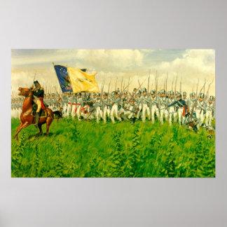 Batalla de Chippewa Poster