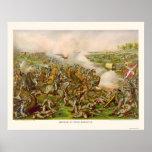 Batalla de cinco bifurcaciones, VA 1865 Posters