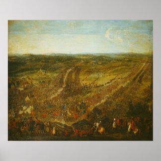 Batalla de Fleurus, el 1 de julio de 1690 Póster