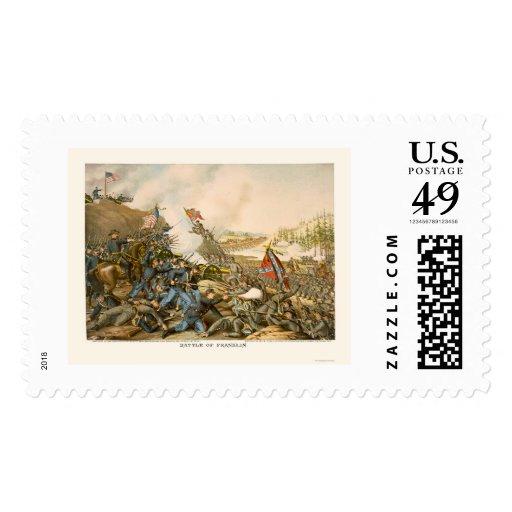 Batalla de Franklin de Kurz y de Allison 1864 Envio