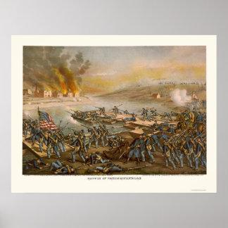 Batalla de Fredericksburg de Kurz y de Allison 186 Posters