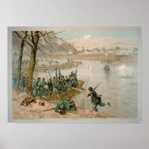 Batalla de Fredericksburg Póster