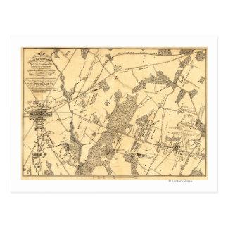 Batalla de Gettysburg 16 Tarjetas Postales