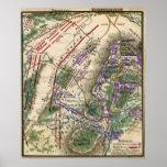 Batalla de Gettysburg 4 Posters