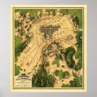 Batalla de Gettysburg 7 Póster