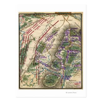 Batalla de Gettysburg 8 Postales