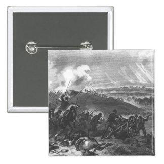 Batalla de Gettysburg Pin Cuadrado
