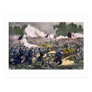 Batalla de Gettysburg Tarjeta Postal