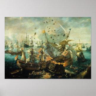 Batalla de Gibraltar Posters