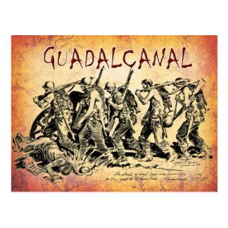 Batalla de Guadalcanal, 1943 Postales