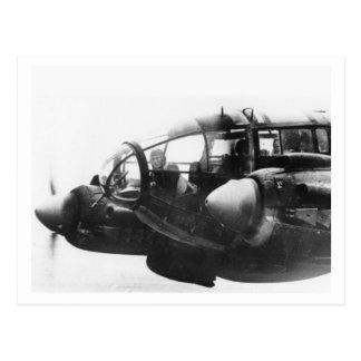 Batalla de Inglaterra y los bombardeos: #39 He111 Tarjeta Postal