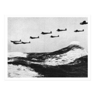 Batalla de Inglaterra y los bombardeos: ¡#7 Angrif Tarjetas Postales