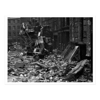 Batalla de Inglaterra y los bombardeos: El bombard Tarjeta Postal