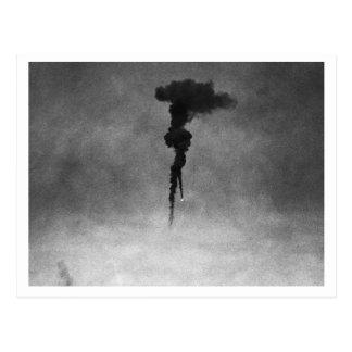 Batalla de Inglaterra y los bombardeos: Globo #12  Postal
