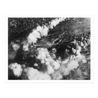 Batalla de Inglaterra y los bombardeos: Muelles #1 Postal