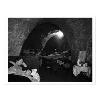 Batalla de Inglaterra y los bombardeos: Refugio de Tarjeta Postal