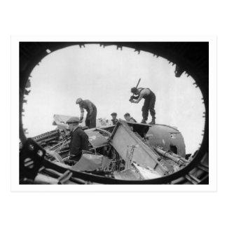 Batalla de Inglaterra y los bombardeos: Salvamento Tarjetas Postales