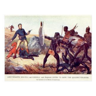 Batalla de Isandlwana Postales