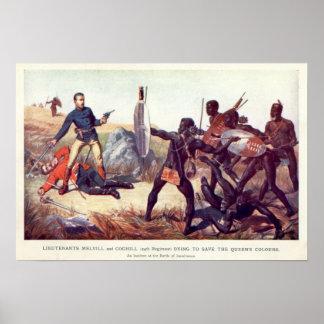 Batalla de Isandlwana Póster