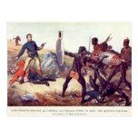 Batalla de Isandlwana Tarjeta Postal