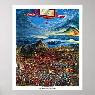 Batalla de Issus de Altdorfer, Albrecht Posters