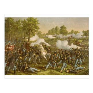 Batalla de la cala de Wilson. 10 de agosto de 1861 Postal