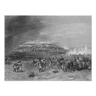 Batalla de la colina de arcón póster