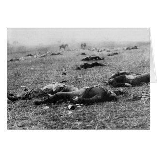 Batalla de la cosecha del de Gettysburg muerte d Felicitaciones