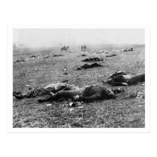 Batalla de la cosecha del de Gettysburg muerte d Tarjeta Postal