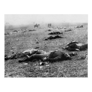 Batalla de la cosecha del de Gettysburg muerte d Postales