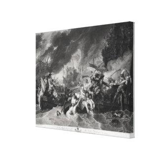 Batalla de La Haya, el 29 de mayo de 1692 Impresiones En Lona