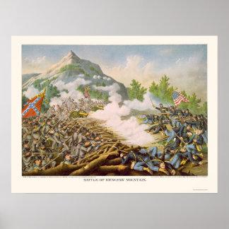 Batalla de la montaña de Kenesaw de Kurz y de Alli Posters