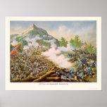 Batalla de la montaña de Kenesaw de Kurz y de Alli Póster