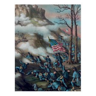 Batalla de la montaña del puesto de observación postal