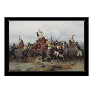 Batalla de la pérdida de Austerlitz de un poster e