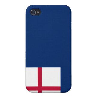 Batalla de la revolución americana de la bandera d iPhone 4 cárcasa