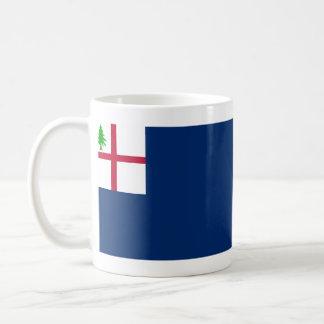 Batalla de la revolución americana de la bandera taza de café