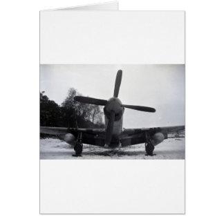 Batalla de las Ardenas del mustango de P 51 Tarjeton