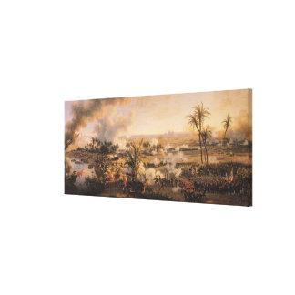 Batalla de las pirámides, el 21 de julio de 1798,  lona estirada galerías