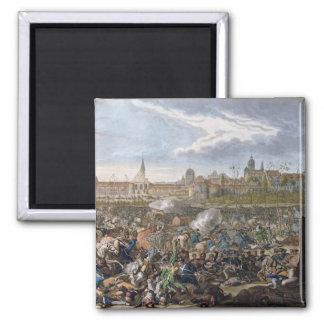 Batalla de Leipzig, el 19 de octubre de 1813 Imanes Para Frigoríficos