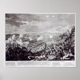 Batalla de Lobositz, el 1 de octubre de 1756 Póster