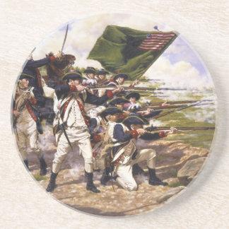 Batalla de Long Island de Domenick D'Andrea Posavasos Cerveza